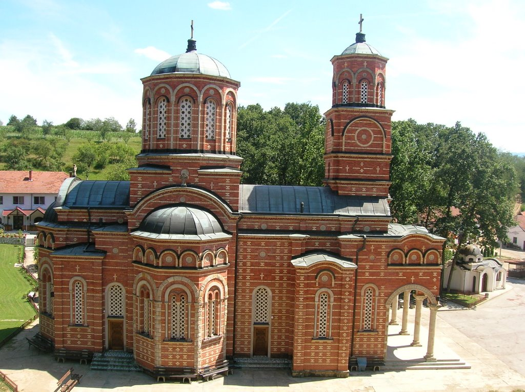 monastery srbia